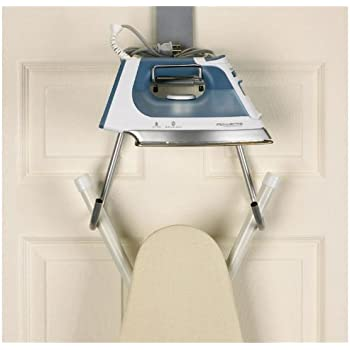 Delightful Household Essentials Over The Door Ironing Board Holder