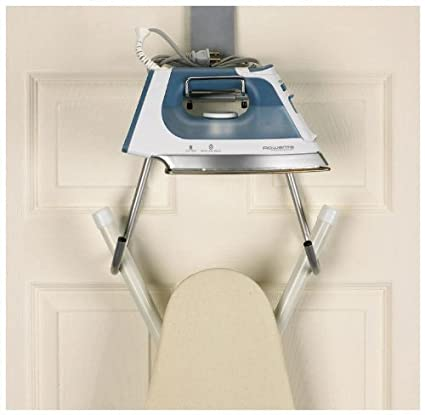Exceptionnel Household Essentials Over The Door Ironing Board Holder