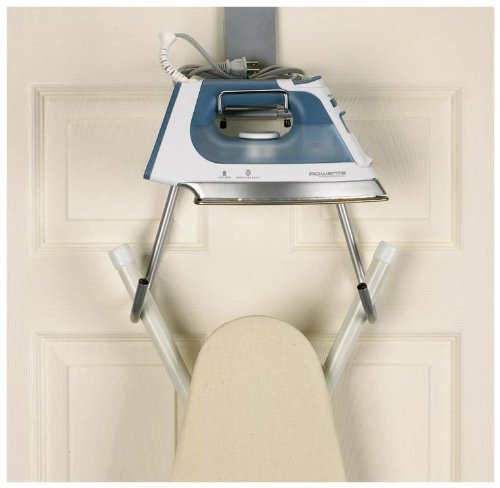Iron Board Holder over the door or Wall Mount Household Essentials 174