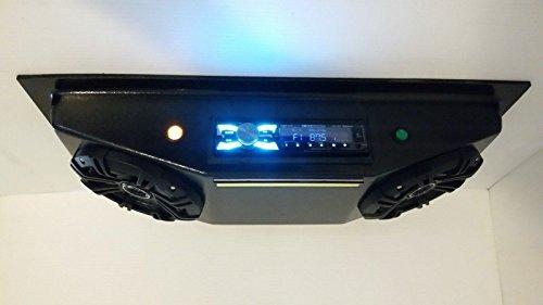 ThunderBuckets Universal Radio UTV Golf CART Overhead Stereo Console with Kicker Speakers