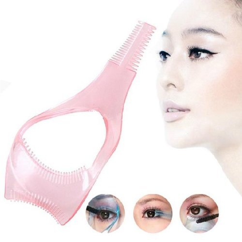 1 Piece Magic Useful Cosmetic Mascara Eyelash Comb Applicator Helper Guide Card Tool Grifri