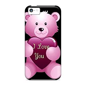 High Quality Mialisabblake Teddy Skin Case Cover Specially Designed For Iphone - 5c