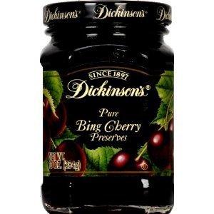 Dickinson's Preserves Black Sweet Cherry -- 10 oz