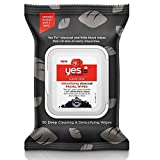 Yes to Tomatoes Detoxifying Charcoal Facial Wipes by Yes To