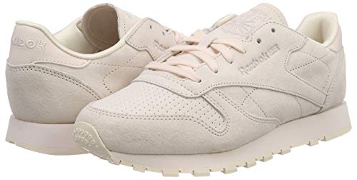 Rose Reebok Taille Leather Clair Baskets NBK 5 37 Classic 1UBqP