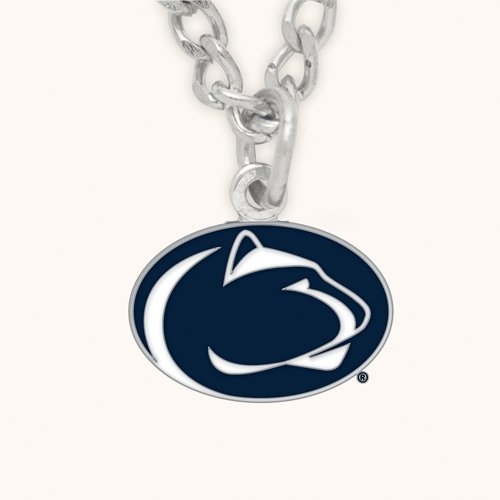 NCAA Penn State University Necklace with Charm Clamshell