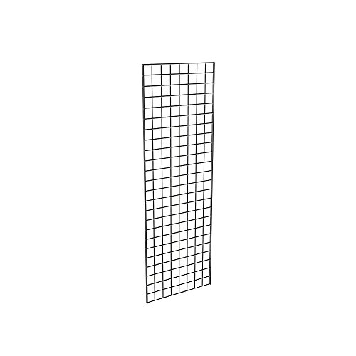 Only Garment Racks 2' x 6' Black Gridwall Panels (Pack of 3) by Gibson