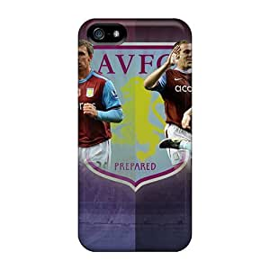 Hot Fashion TbsnMPQ6870Okgat Design Case Cover For Iphone 5/5s Protective Case (the Football Club England Aston Villa)