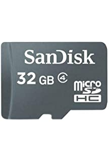 Amazon.com: SanDisk 32GB MicroSDHC High Speed Class 4 Card ...