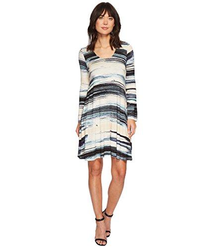 Karen Kane Women's Brushstroke Taylor Dress Print Small