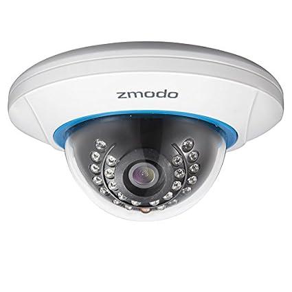 Zmodo ZP-IDP15-W Cámara de seguridad IP Interior Almohadilla Blanco 1280 x 720Pixeles