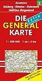 Die Generalkarten Österreich, Großblatt, Bl.2, Salzburg, Steiermark, Kärnten (Marco Polo Regional Maps)