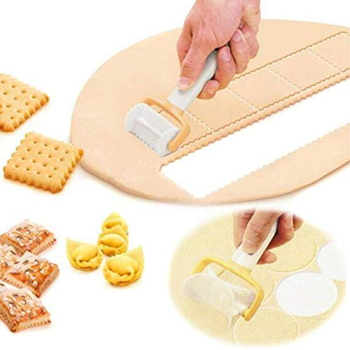 3Pcs/Set Rolling Biscuit Cookies Cutter Mold Maker Cake DIY Pastry Cutter Bread Cake Decorating set
