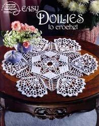 Easy Doilies to Crochet (American School of Needlework #1093)