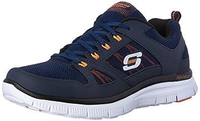Skechers Flex Advantage Men's Low-Top Sneakers: Amazon.co