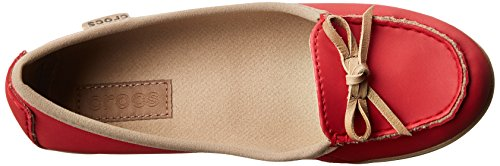 Crocs Origami Ballet Flat W - Bailarinas Rosso (Pepper/Tumbleweed)