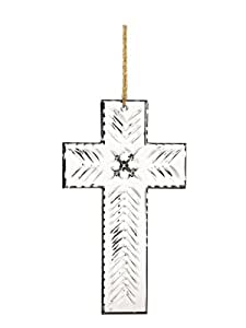 Marquis by Waterford 2013 Christmas Tree Cross Ornament, 4-Inch