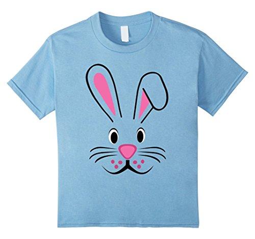 [Kids Bunny Ears Easter Shirt Boys Teen Girls Kids Rabbit Outfit 8 Baby Blue] (Couple Dress Up Ideas)