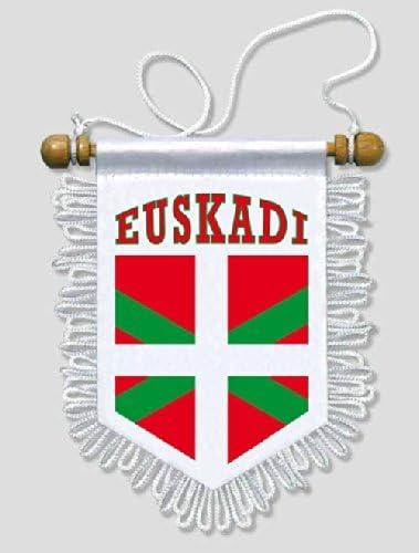 Akachafactory Fanion Mini Drapeau Pays Voiture Decoration Pays Basque euskadi