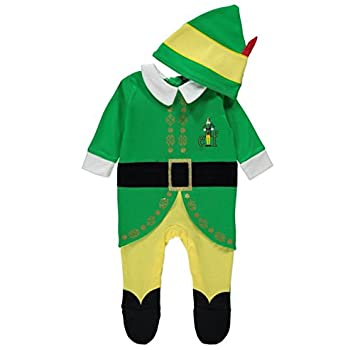 Officially Licensed Buddy The Elf Fancy Dress Onesie With Hat Baby