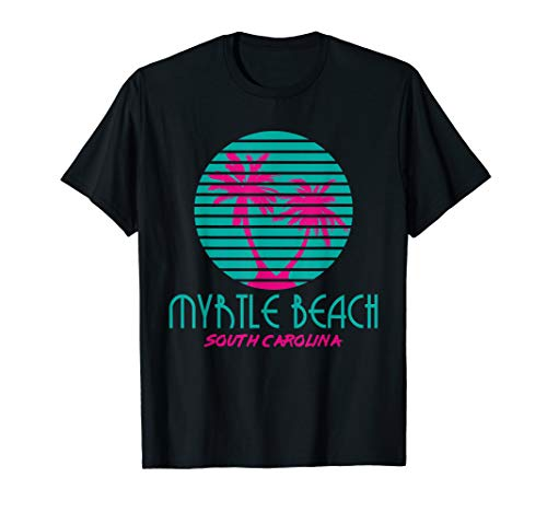 Myrtle Beach SC T Shirt Retro (To Beach Fl Sc Myrtle Orlando)