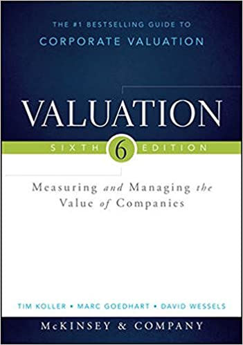 Amazon valuation measuring and managing the value of companies valuation measuring and managing the value of companies wiley finance 6th edition fandeluxe Images