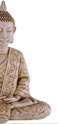 DEGARDEN AnaParra Figura Decorativa Buda de hormigón-Piedra para ...