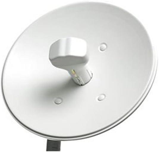 Ubiquiti Networks NanoBridge M5-25 - Antena de Red (150 Mbit/s, 25 dB, TCP/IP, 5.47-5.825 GHz), Blanco
