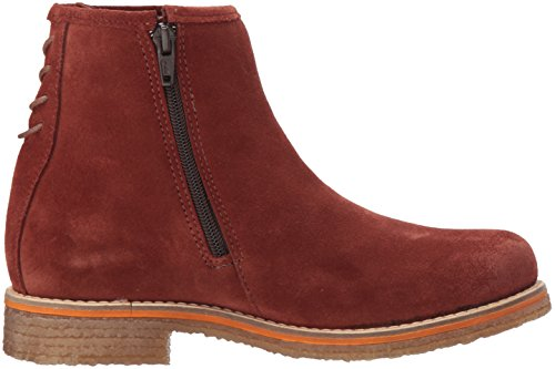 Bos. & Co. Womens Bay Ankle Boot Brick Suede rXvkhg