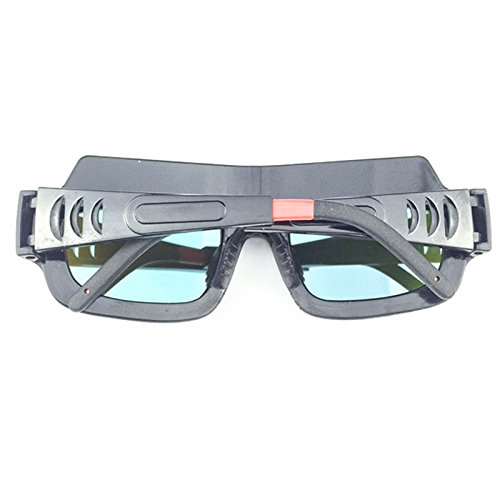 Welding Goggles Zinnor Welding Glasses Mask Lens Helmet Auto Darkening Solar Powered Anti-scraping Welder Glasses Arc PC Lens For Welding Protection by Zinnor (Image #3)