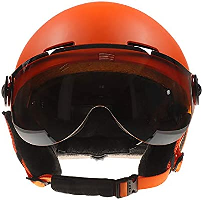 SRUN Casco de esquí Unisex CE Norma Nieve Deportes al Aire ...