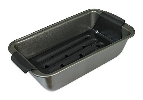 Hamilton Beach Nonstick Meatloaf Draining