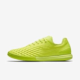 Nike Men's MagistaX Finale II IC Indoor Soccer Shoe (Volt)