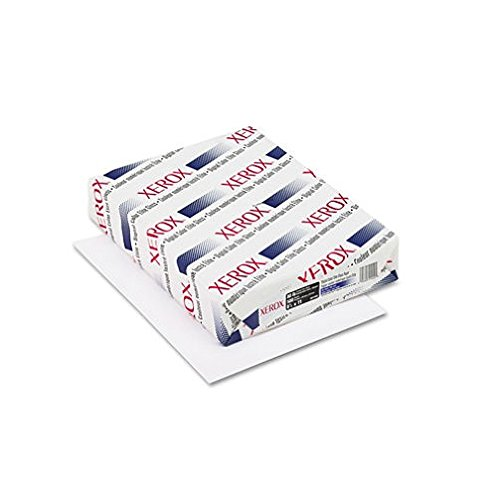 """Xerox Bold Coated Gloss Digital Printing Paper (For Laser Print - Letter - 8.50"""" X 11"""" - 80 LB Basis Weight - Glossy, Ultra Smooth - 94 Brightness - 3000 / Carton - White)"""