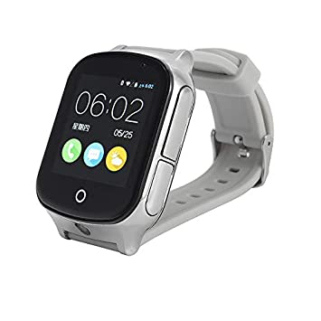 Amazon.com: Smart Watch GPS SOS Call - Pulsera de seguridad ...