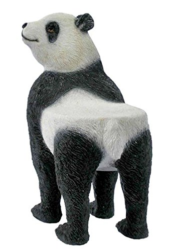 Attrayant 3.25 Inch Miniature Display Object Panda Bear Chair Collectible Gift