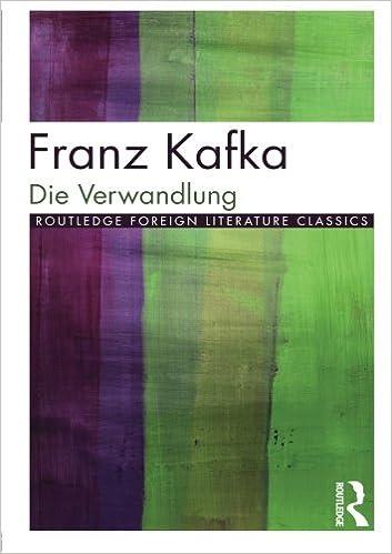 Die Verwandlung (Twentieth Century Texts)