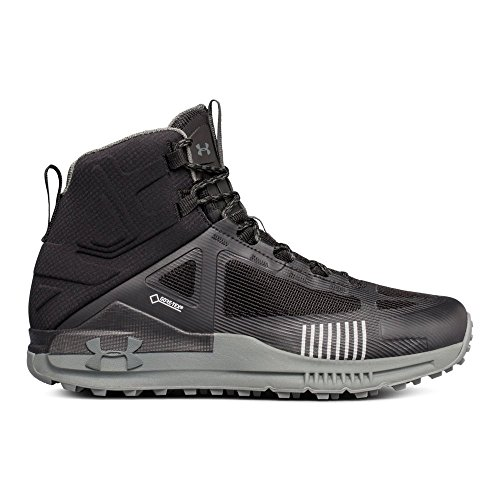 Under Armour Men's Verge 2.0 Mid Gore-TEX Hiking Boot, (002)/Black, 8