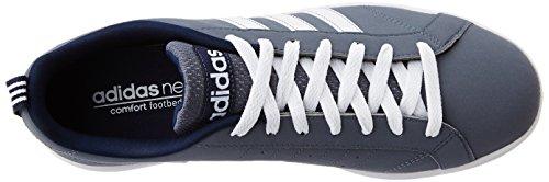 adidas Advantage Vs, Zapatillas de Deporte Exterior para Hombre Azul (Onix / Ftwbla / Maruni)