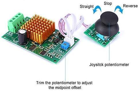 SSY-YU モータースピードコントローラー、DC12〜30V CW/CCWモータースピードレギュレータ、PWMスピードコントローラ、小さなノイズの影響を受ける(CCM4N) 電動工具用