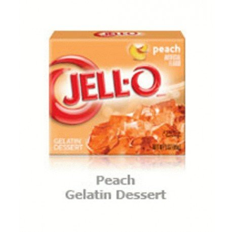 Peach Jell-O Gelatin Dessert 3-oz box (Set of 3)