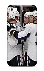 New Premium Flip Case Cover Tampa Bay Lightning (36) Skin Case For Iphone 5c