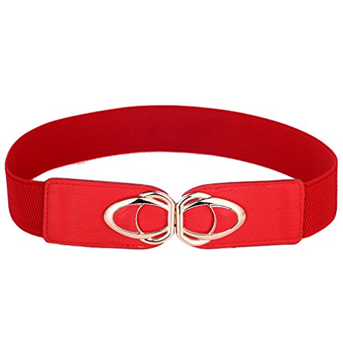 (Beltox Womens Belts Elastic Stretch Cinch Plus Fashion Dress Belts for ladies (30