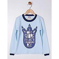 Pijama Longo Infantil Para Menino - Azul/marinho