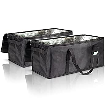 Amazon com: Commercial Insulated Food Delivery Bags - 22