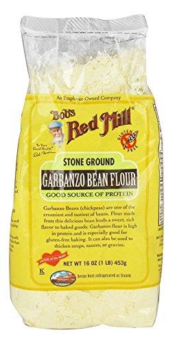 (Stone Ground Garbanzo Bean Flour 16 Ounce (1 lb) (453 g) Pkg)