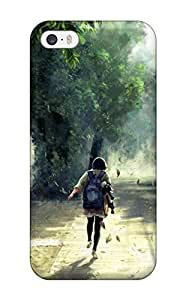LastMemory Fashion Protective Anime Painting Case Cover For Iphone 5/5s