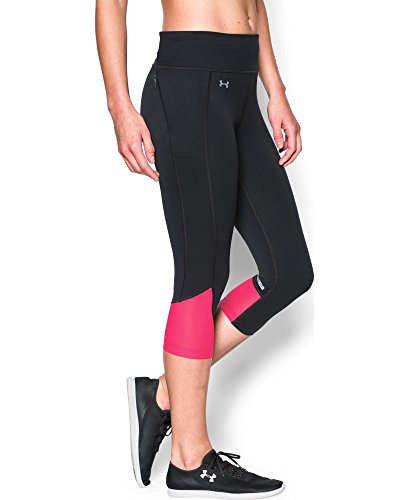 Under Armour Women's Fly-By Run Capri, Black (003), Medium (Under Armour Capri Pants compare prices)