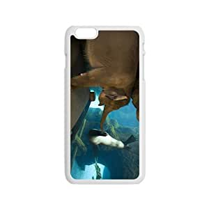 Elphant And Sea Lion Hight Quality Plastic Case for Iphone 6