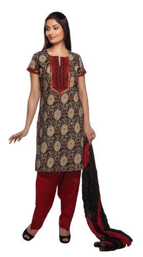 Women's Pintuck Salwar Kameez Set